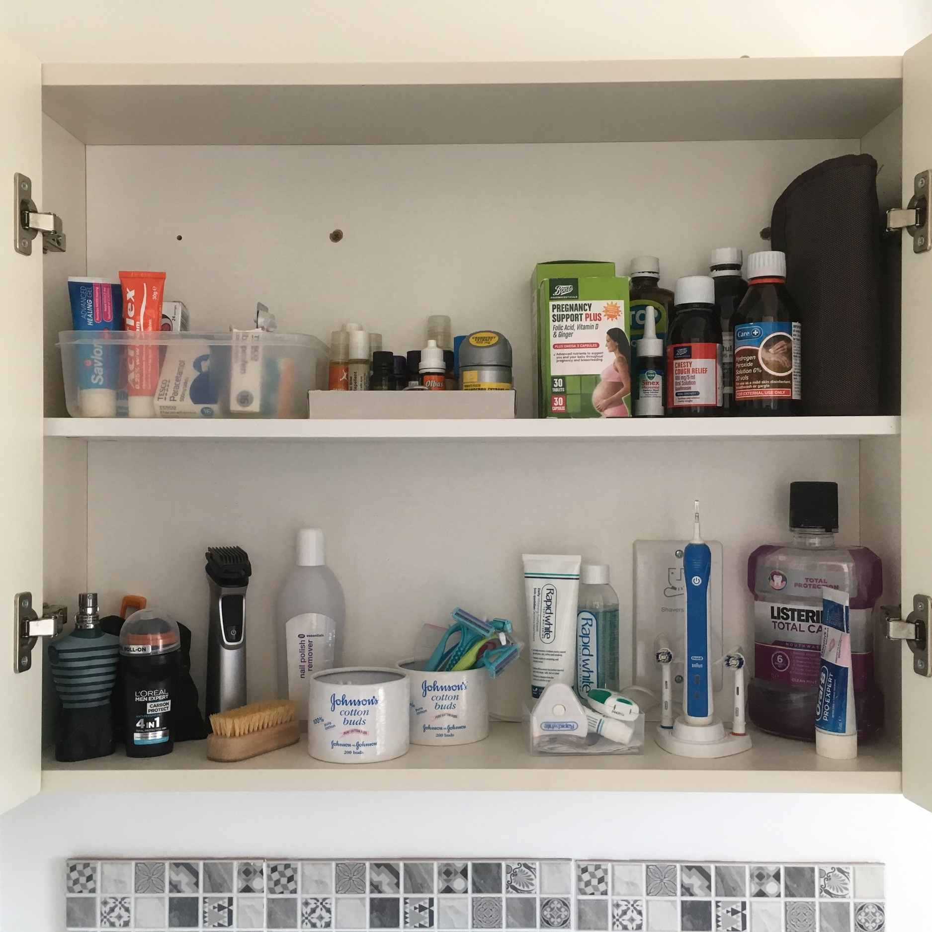 Client J ~ Bathroom cabinet