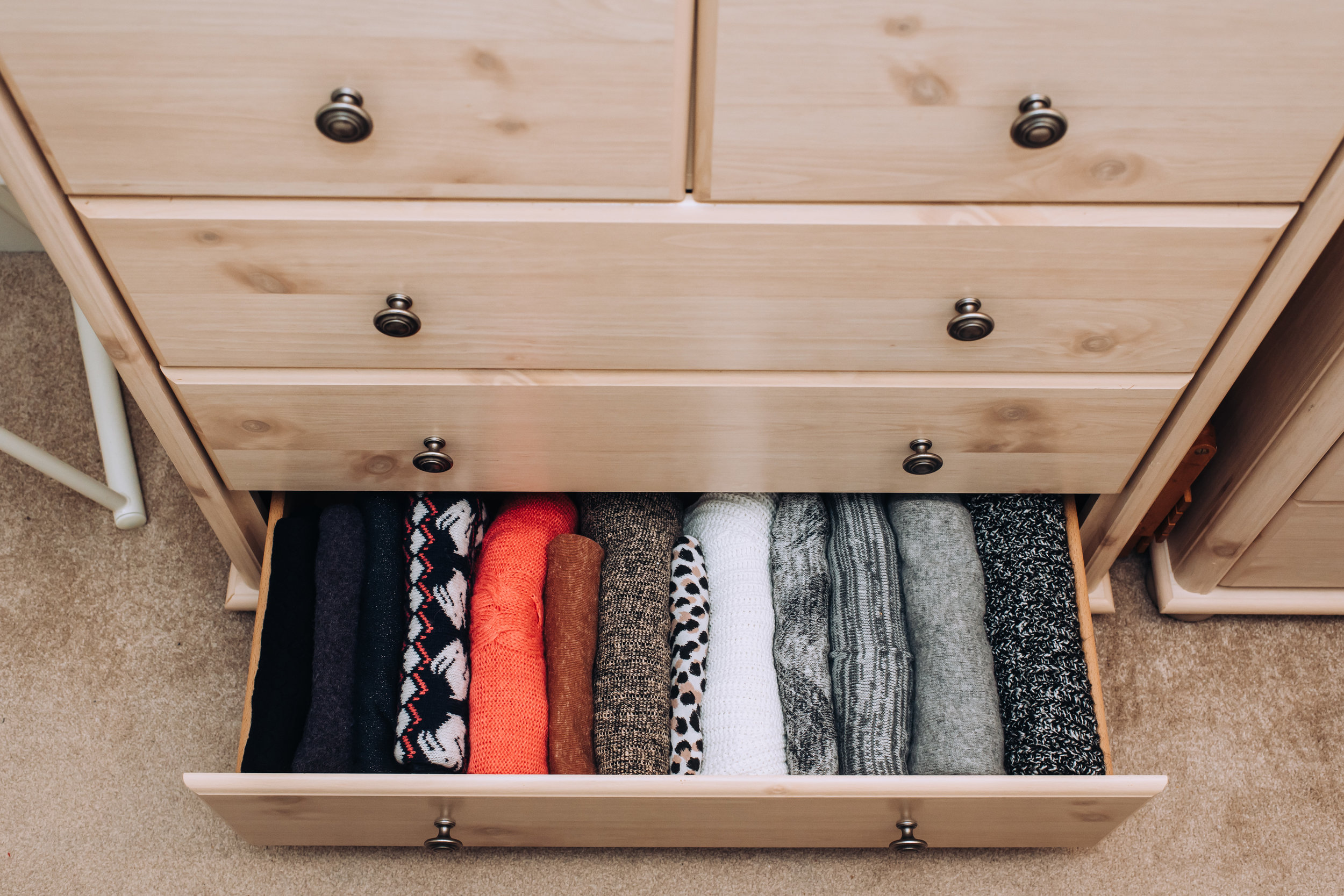 Jumper Drawer ~ Lily Sawyer Photography