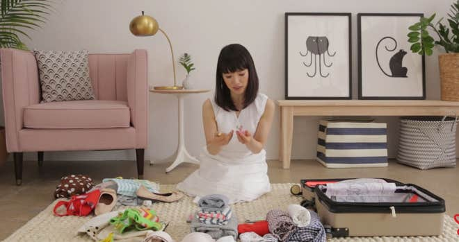 Marie Kondo for Apartment Therapy