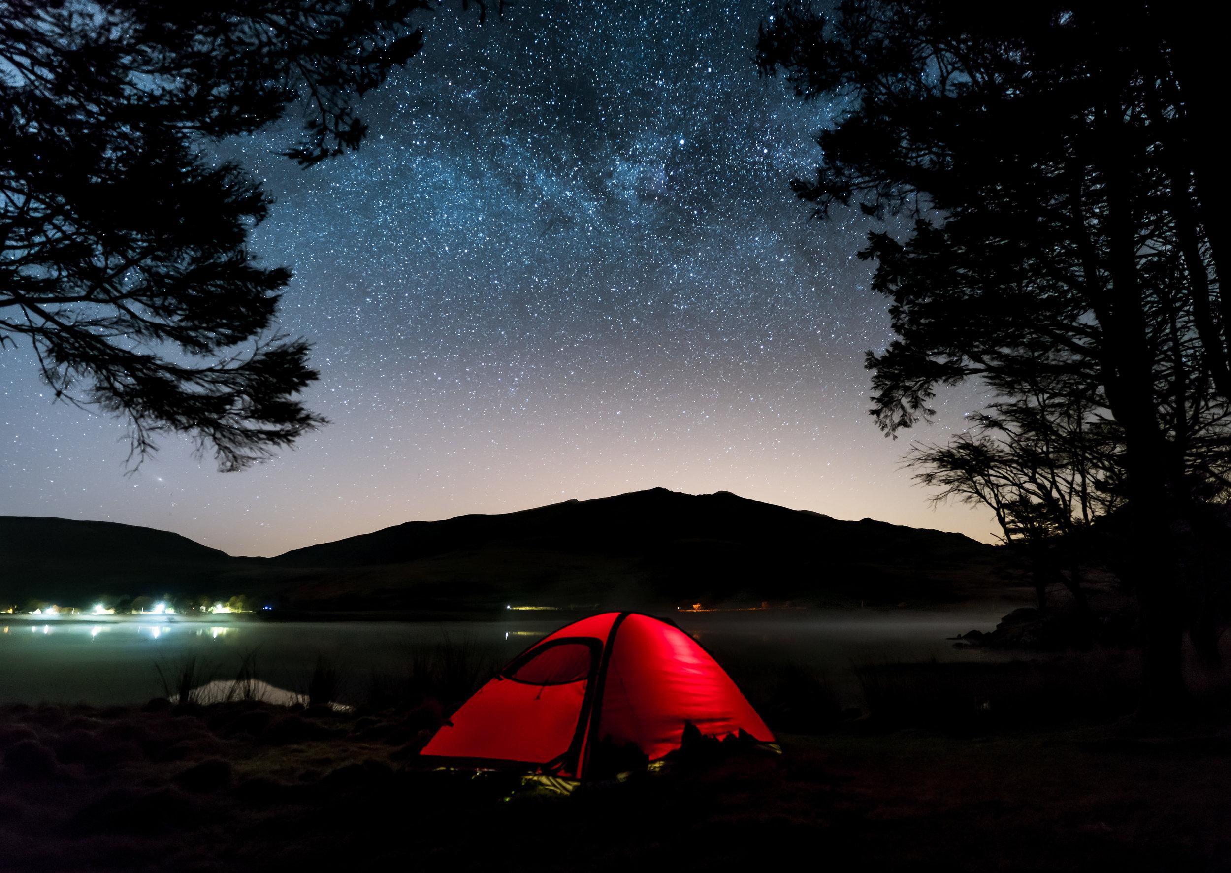 THE NIGHT SKY -