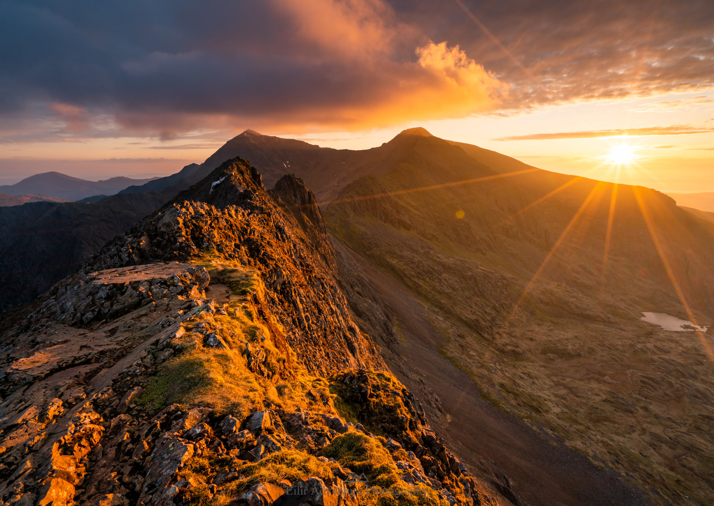 Crib Goch sunset-.JPG