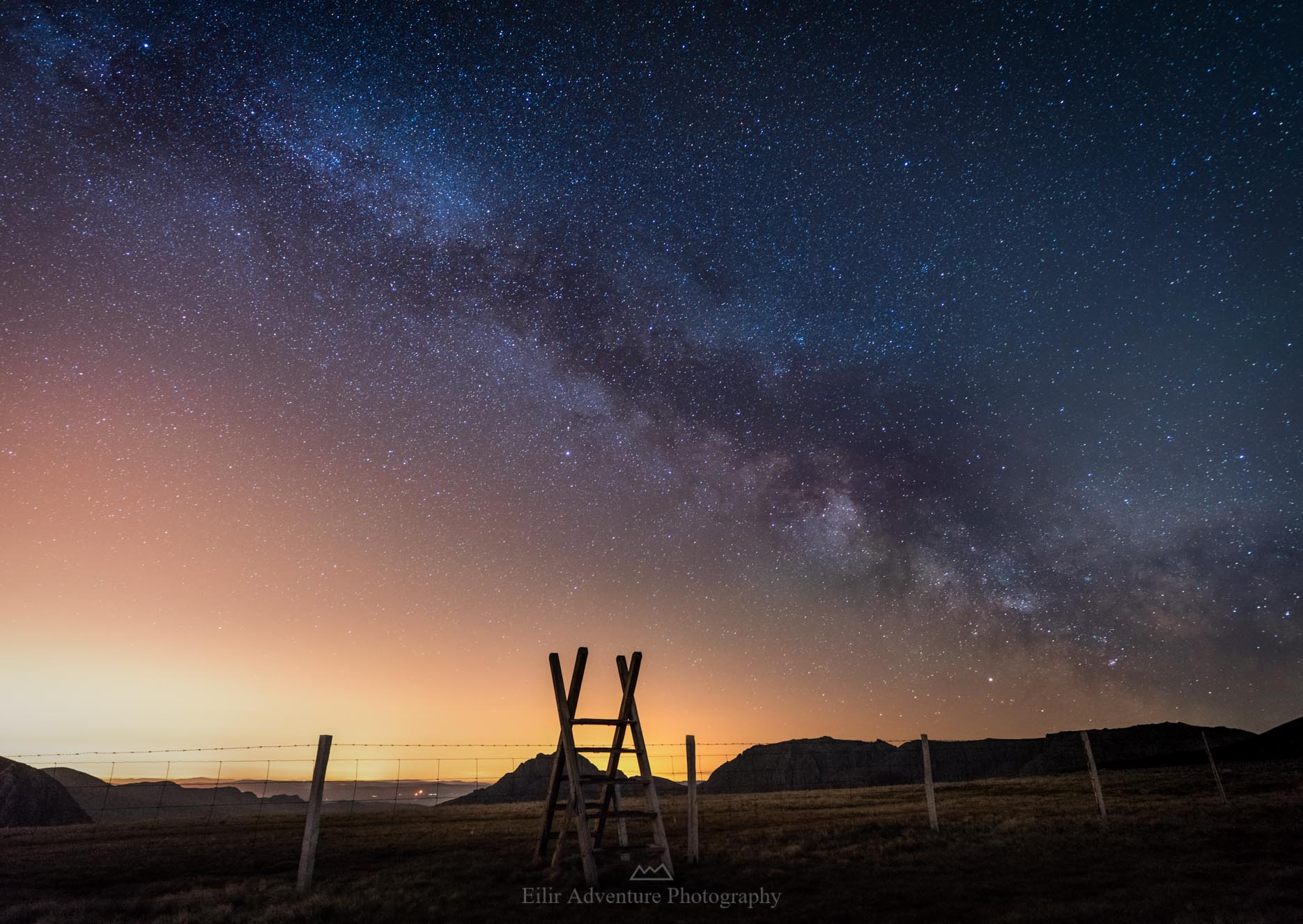 Milky way from Foel-Goch-.JPG