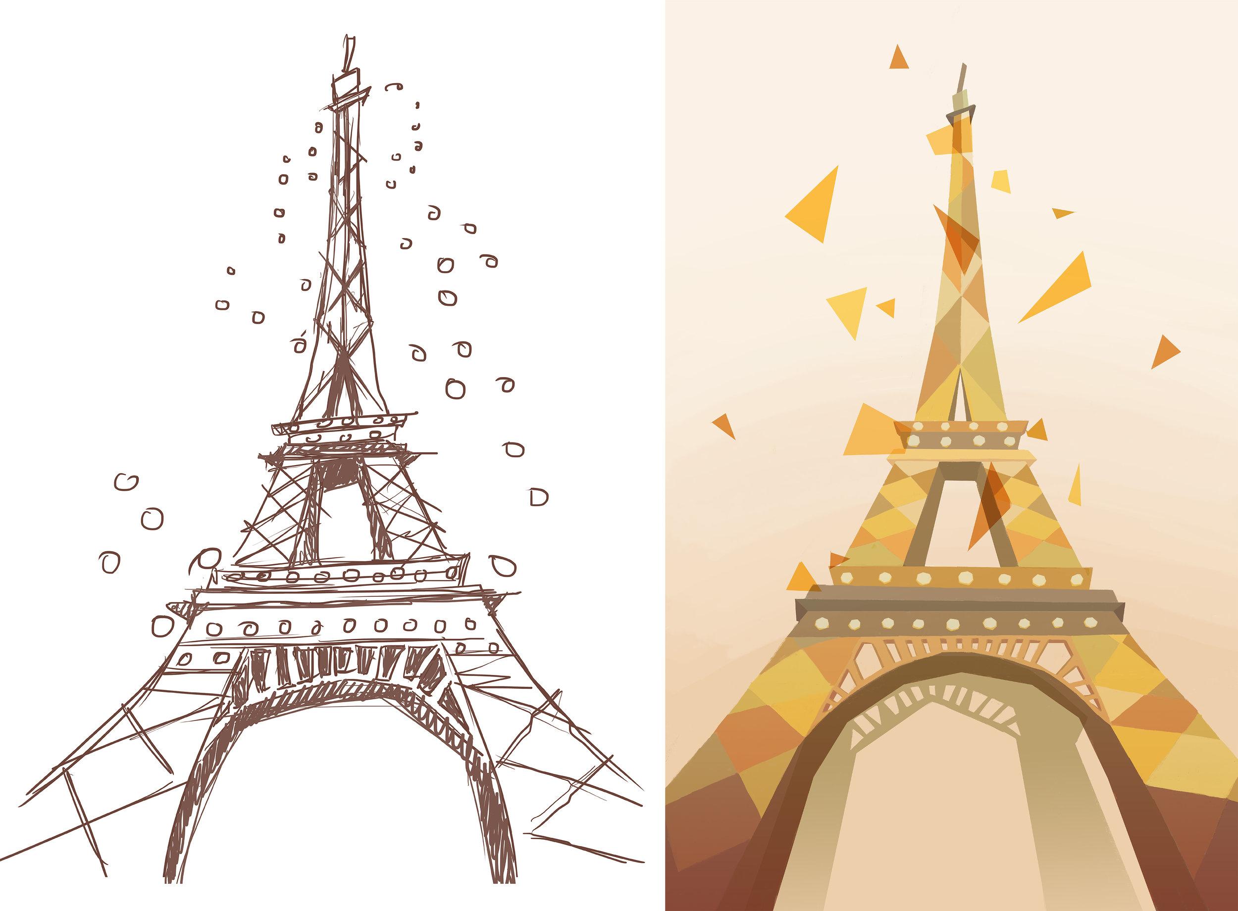 Torre eiffel_Èlia Meraki