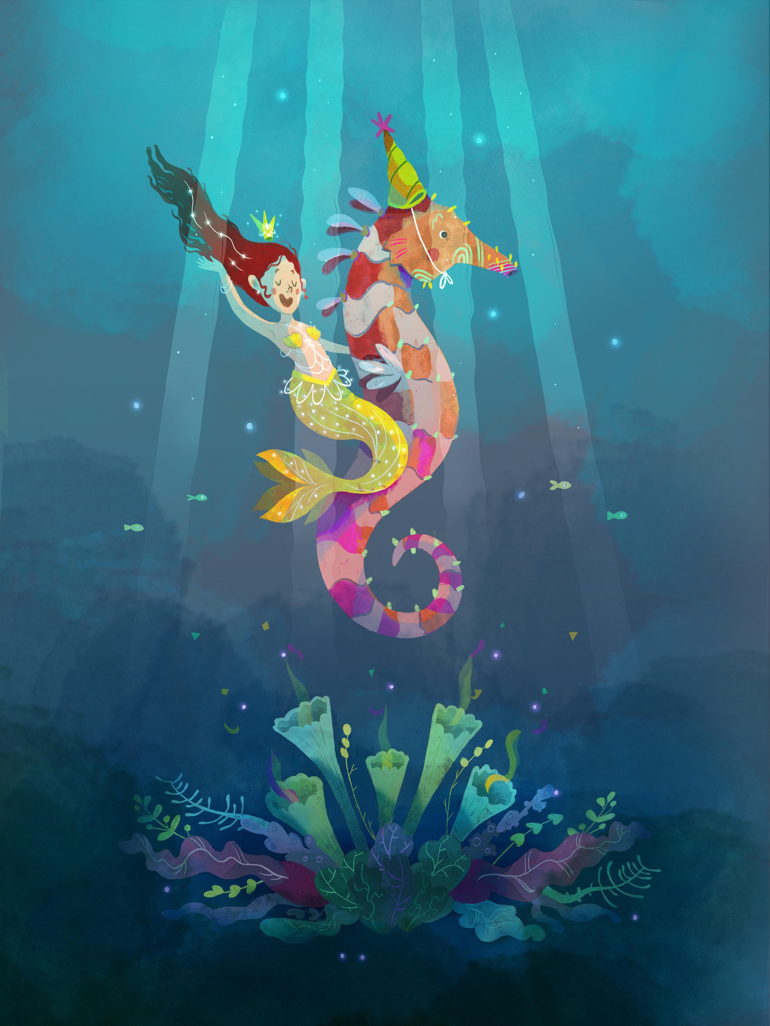 Mermaid, #mermay by Èlia Meraki