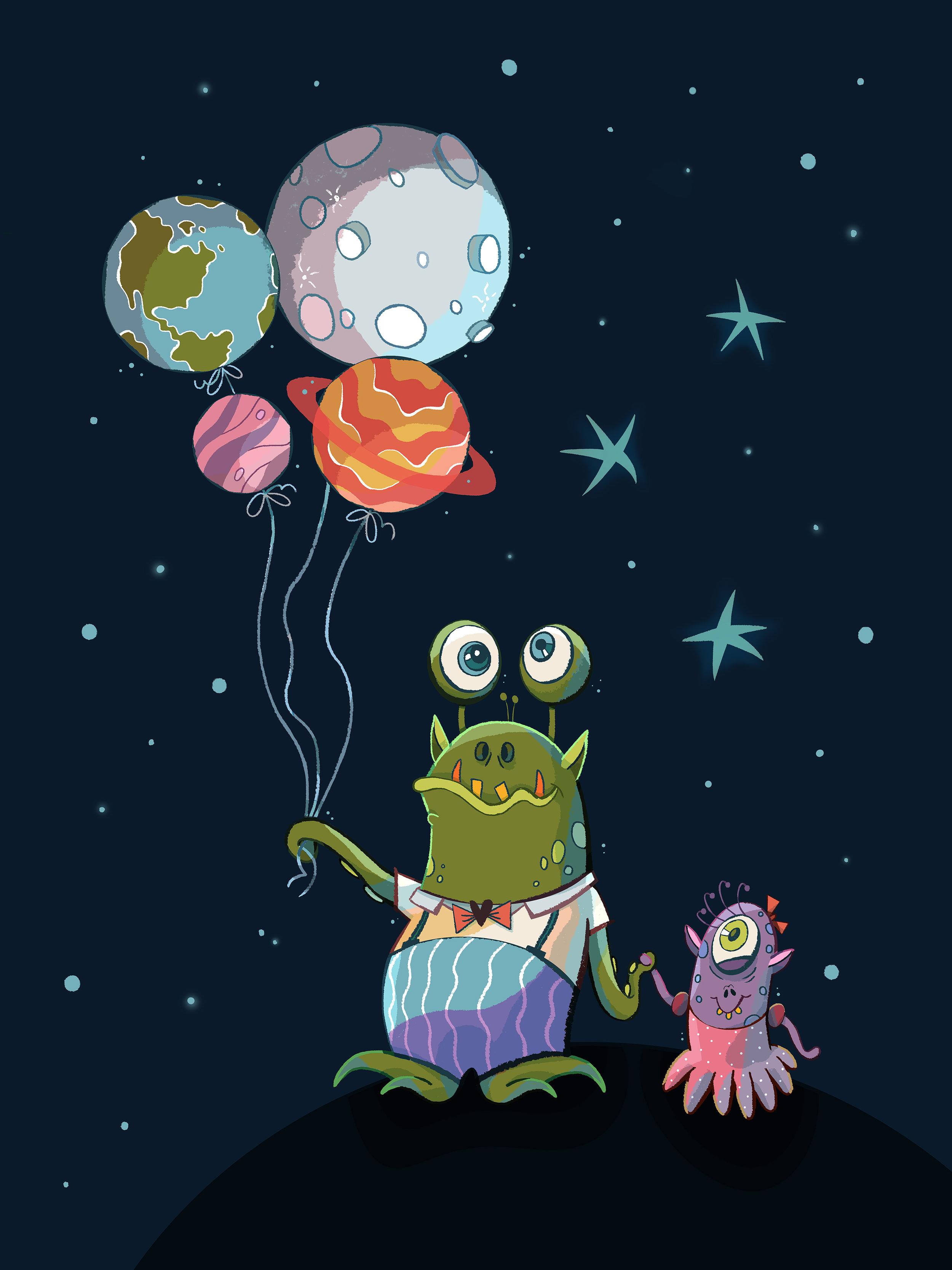 Aliens by Èlia Meraki