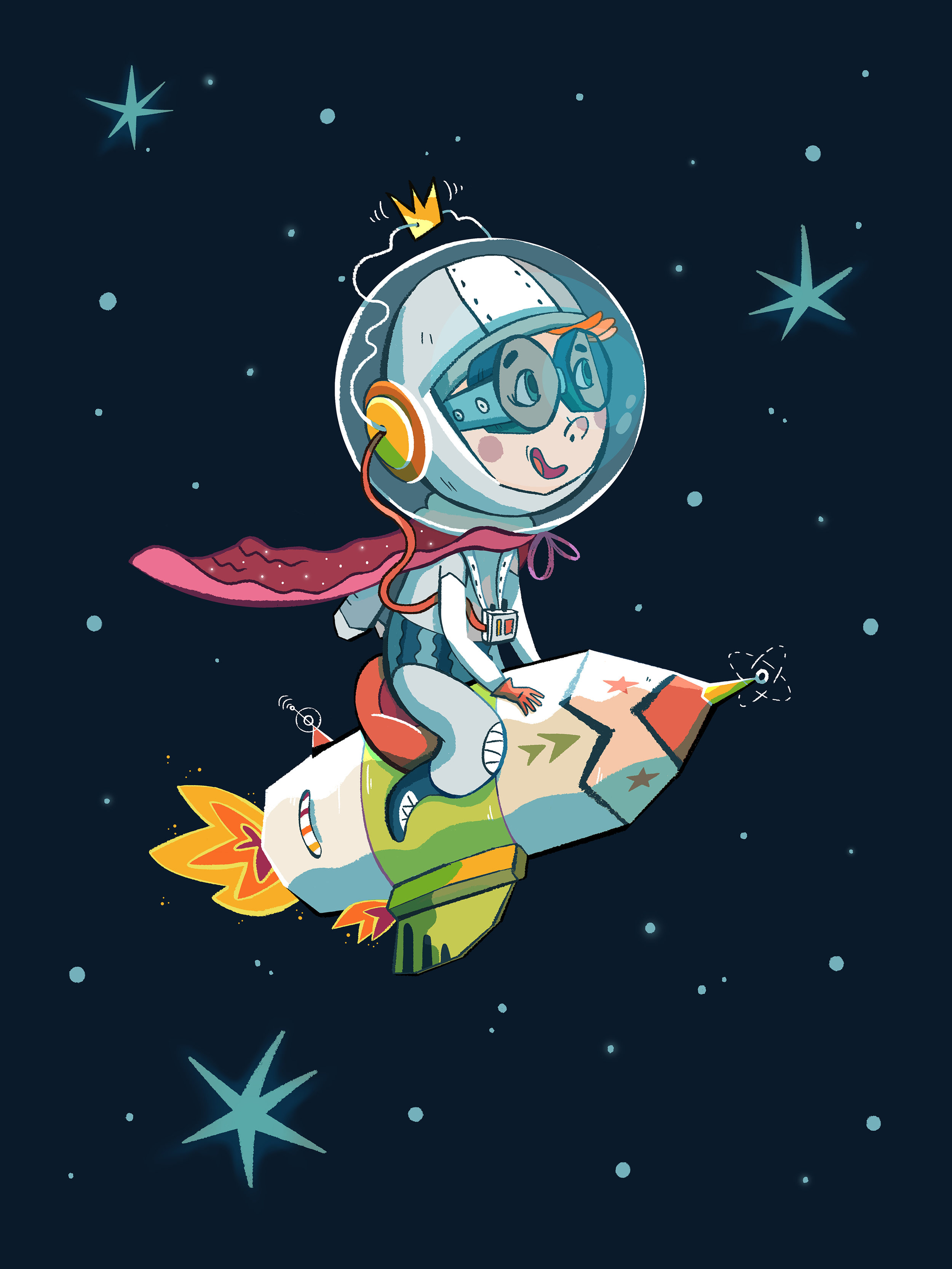 Super Astronaut by Èlia Meraki