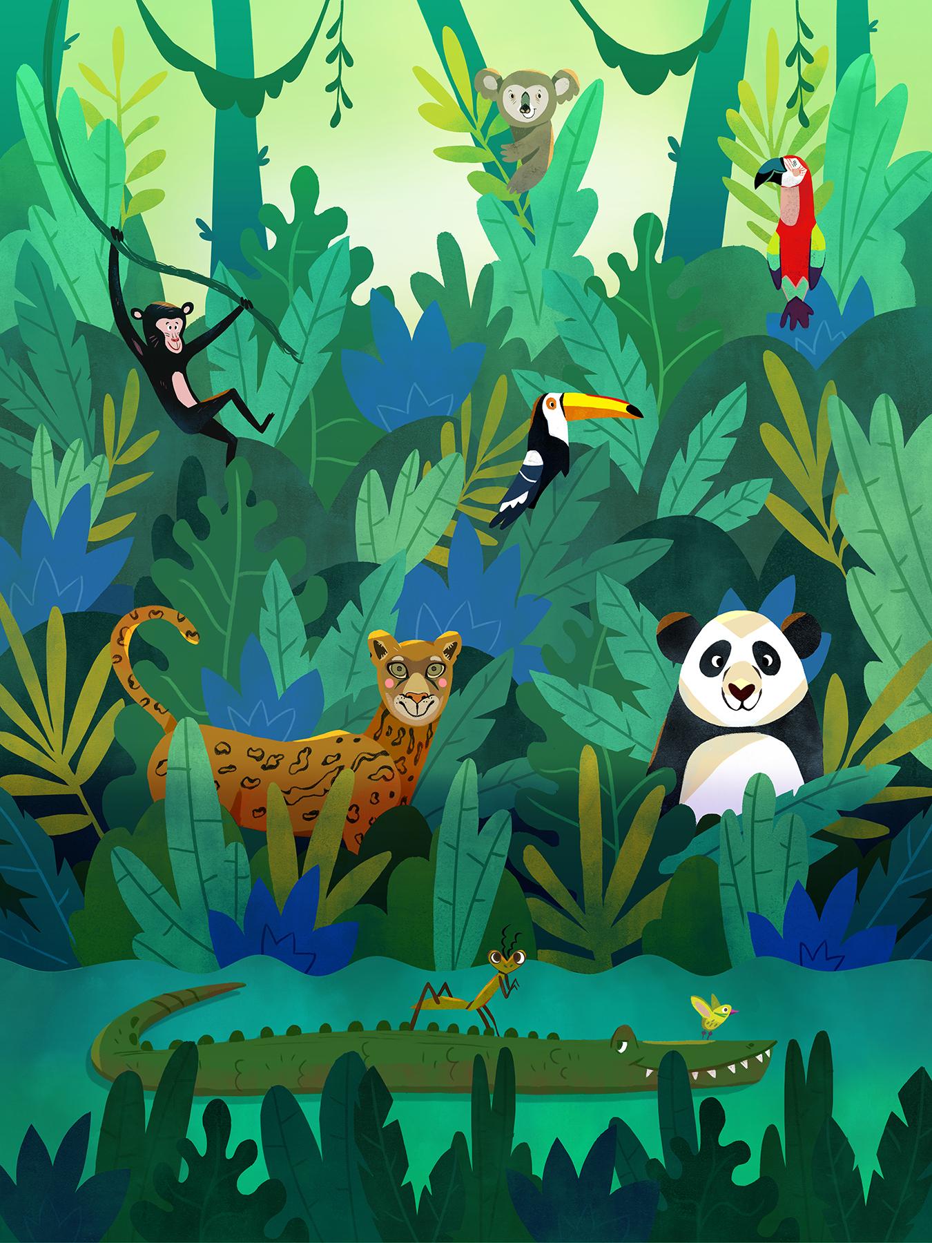 Jungle by Èlia Meraki ©