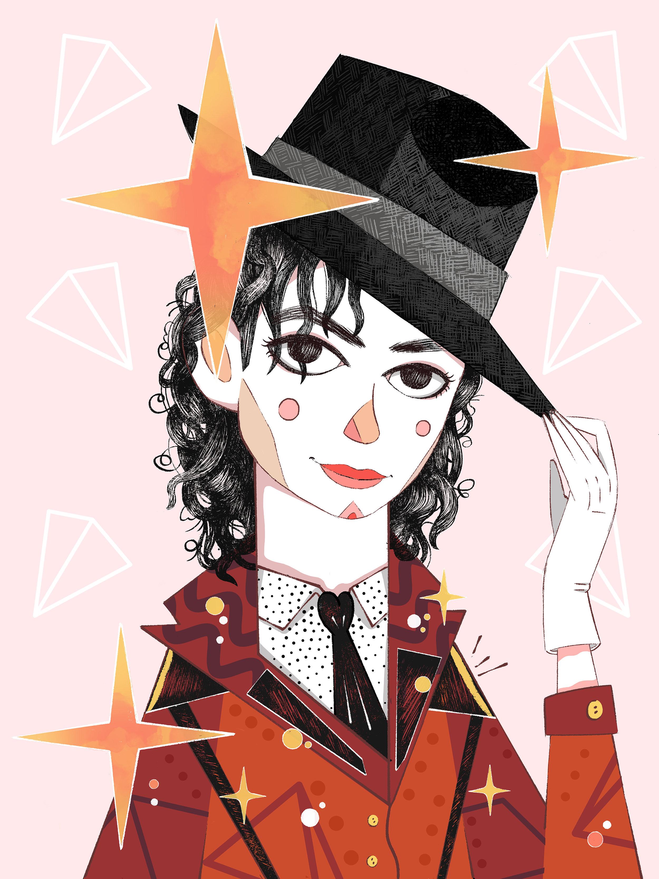 Michael Jackson by Èlia Meraki