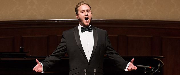 Julien Van Mellaerts, Winner of the Wigmore Hall Song Competition and the Ferrier Awards