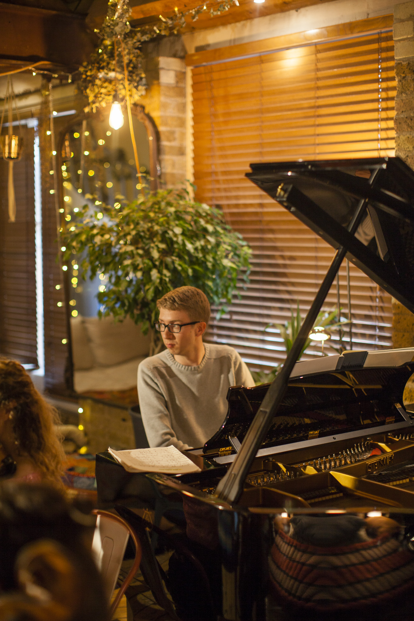Ian Tindale, piano