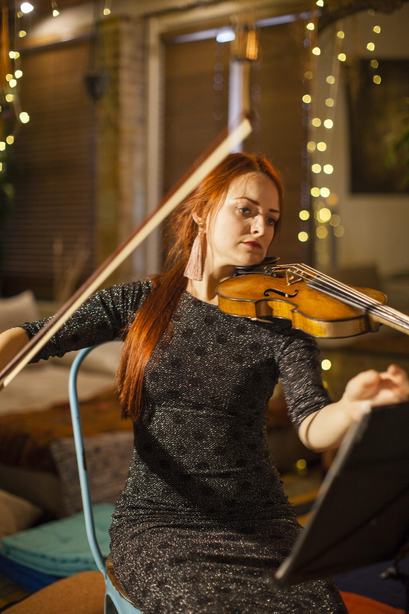 Katarzyna Ziminska, violin