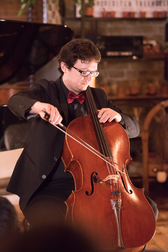 DEBUT at Shoreditch Treehouse | Riccardo Pes Cello