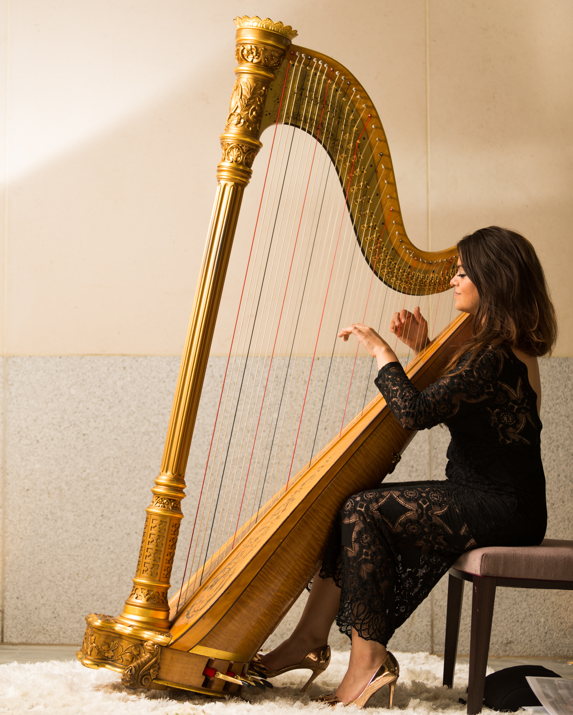 Hire a harpist | Weddings and Events