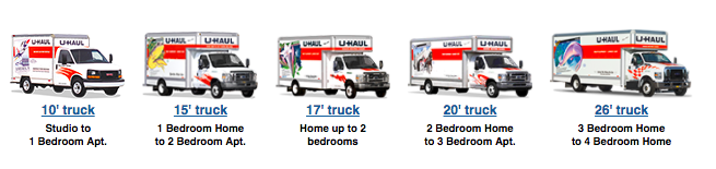 UHaul Truck Rental