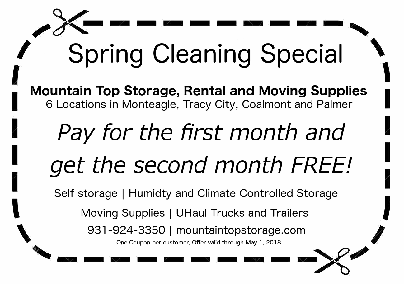 Free Month Thru May 1