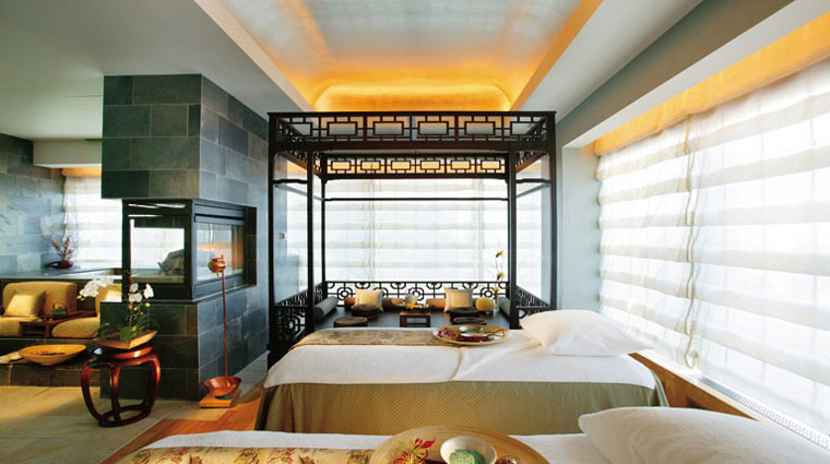 The Spa at Mandarin Oriental, New York   Sweeping views of Central Park and the Hudson River from floor-to-ceiling windows aren't the only thing that'll put the 35th-floor Spa at Mandarin Oriental, New York at the top of your list of favorites.
