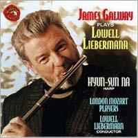James Galway, London Mozart Players, Lowell Liebermann, cond.