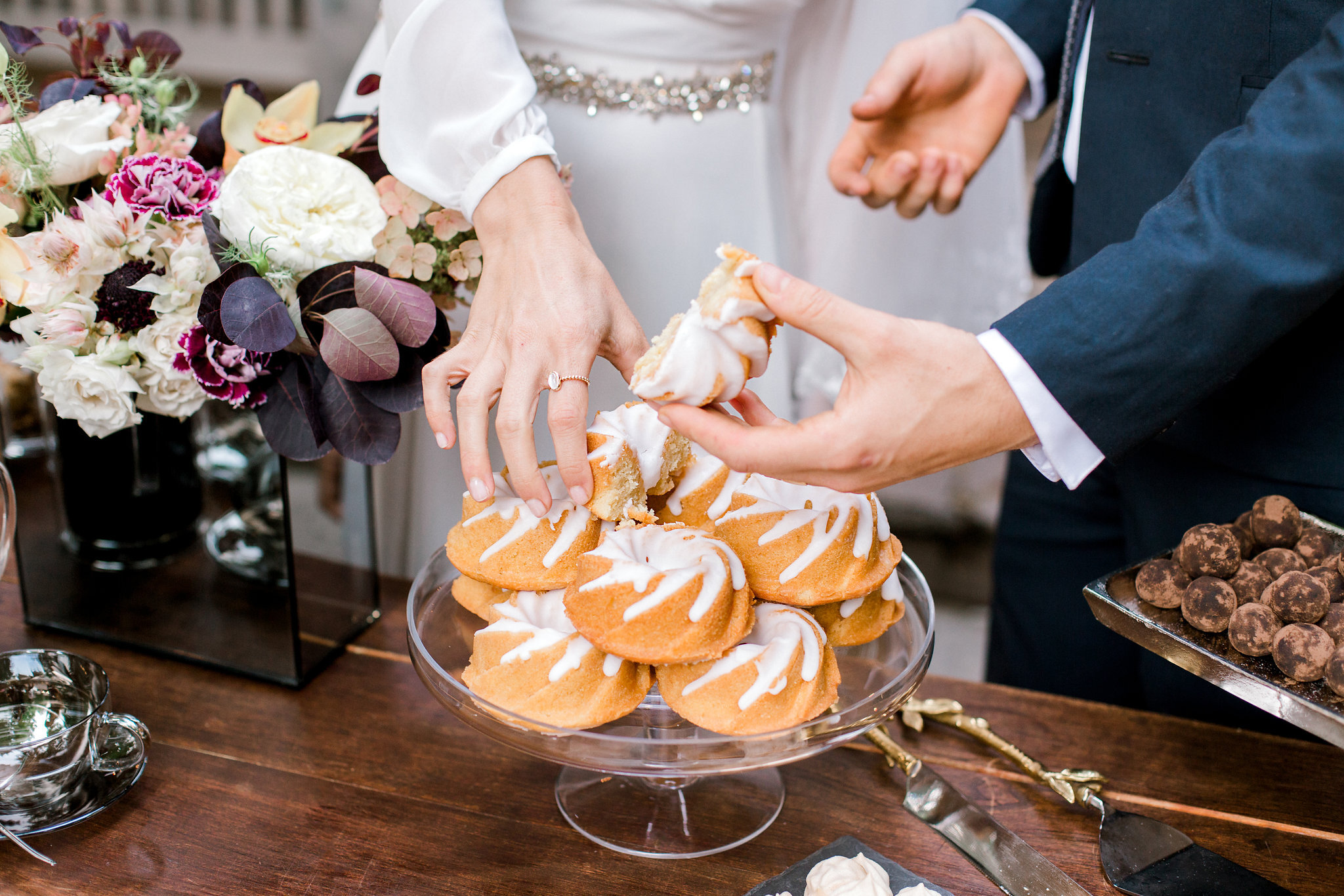 why hire a wedding planner? - From timing your walk down the aisle to coordinating your vendors, there is a lot to manage on your wedding day.Planners make it so you and your family get to enjoy your day and focus on making memories instead of paying attention to all the moving parts.