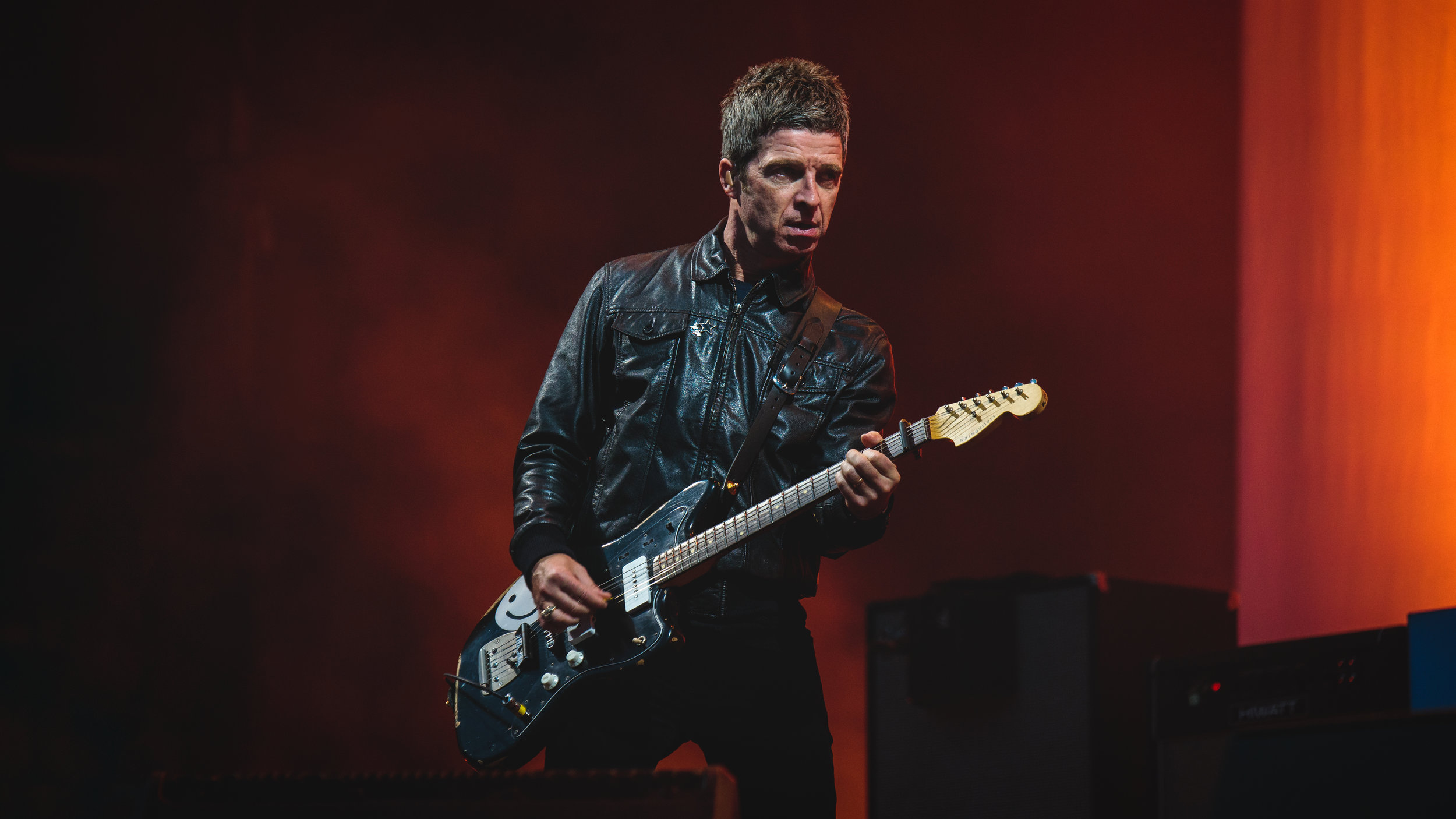 Noel Gallagher's High Flying Birds headlined Saturday evening on the main stage.