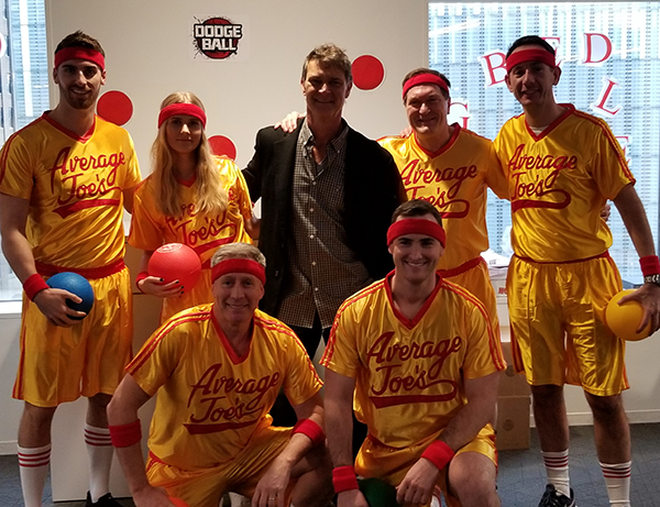 Don Mattingly with Dodgeball ICAP Team 2018.jpg