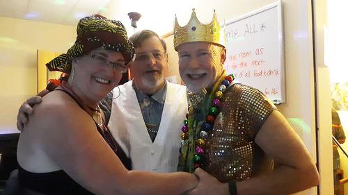 Our Mardi Gras dance was tremendous fun!