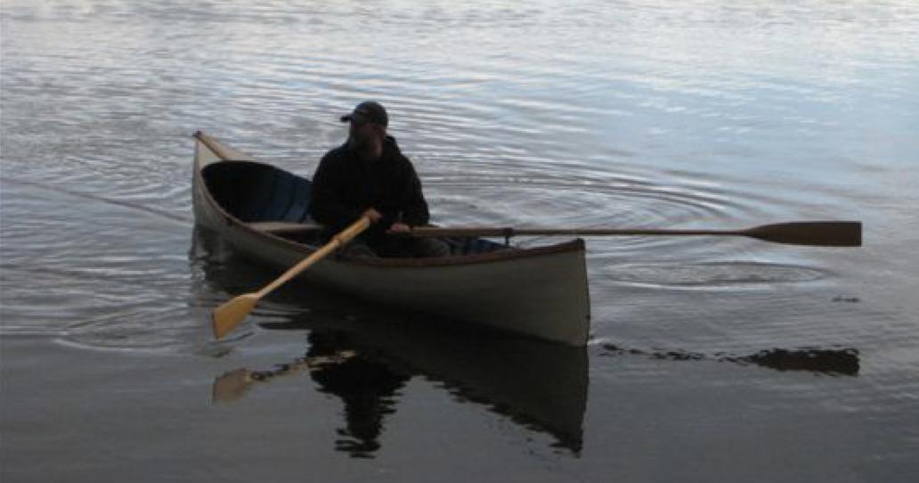 Matt In Guideboat