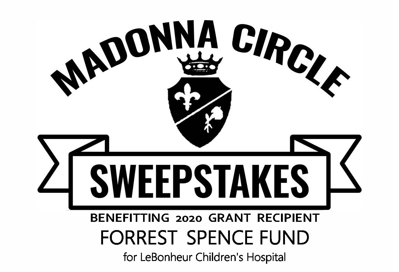 "The Forrest Spence Fund :""Forrest Food for Families"" Project - at LeBonheur Children's HospitalThe 2020 Sweepstakes ticket sales begin December 2, 2019."