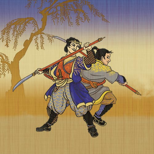 Reflections: The Games of Dueling Samurai
