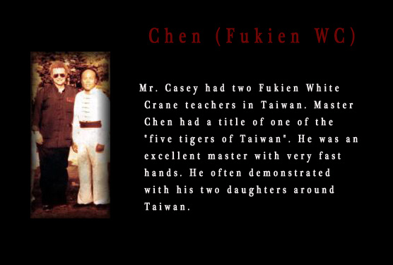 Christopher Casey with Master Chen of Fukien White Crane.