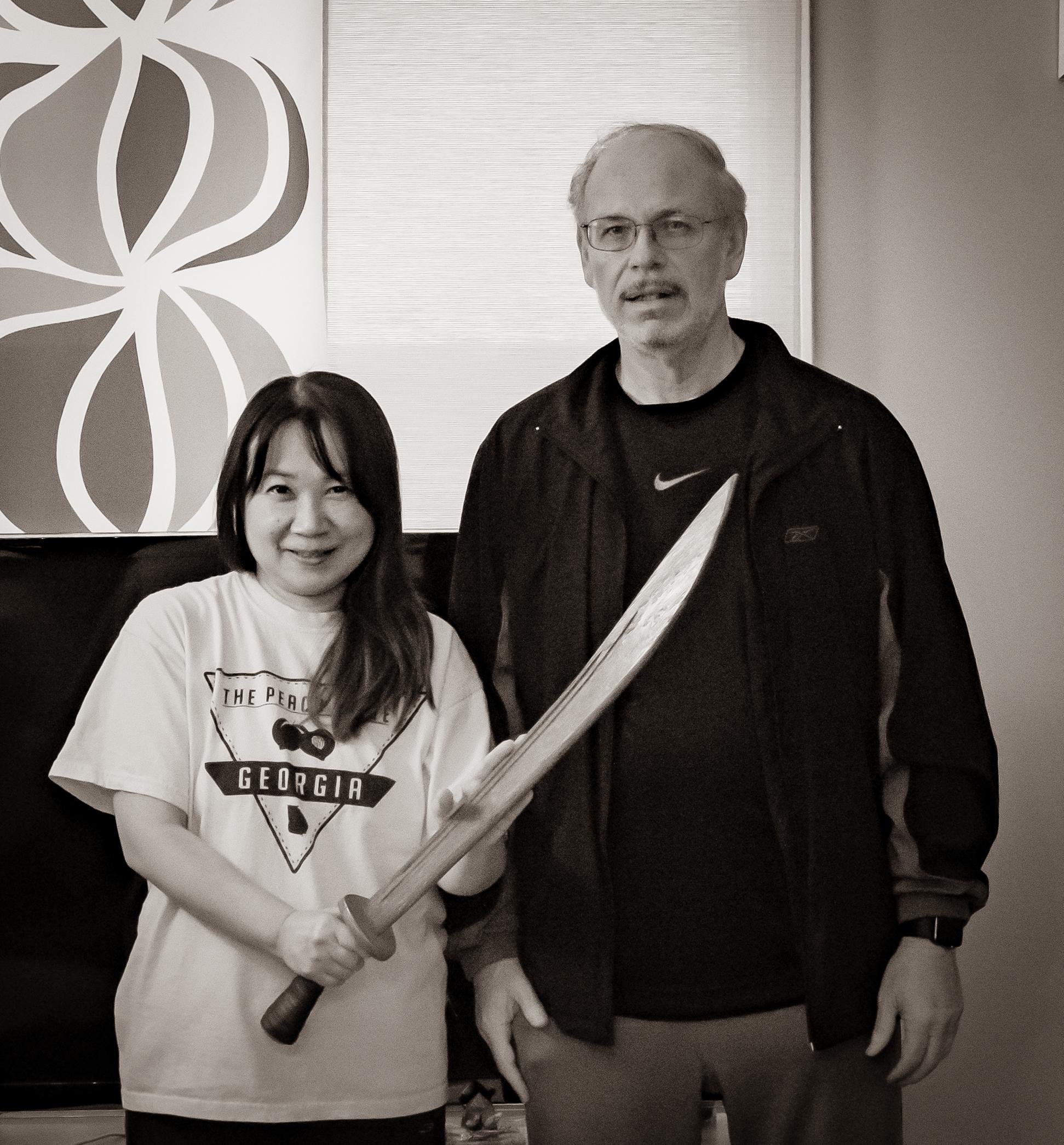 Sachiko Khaw and James Cravens