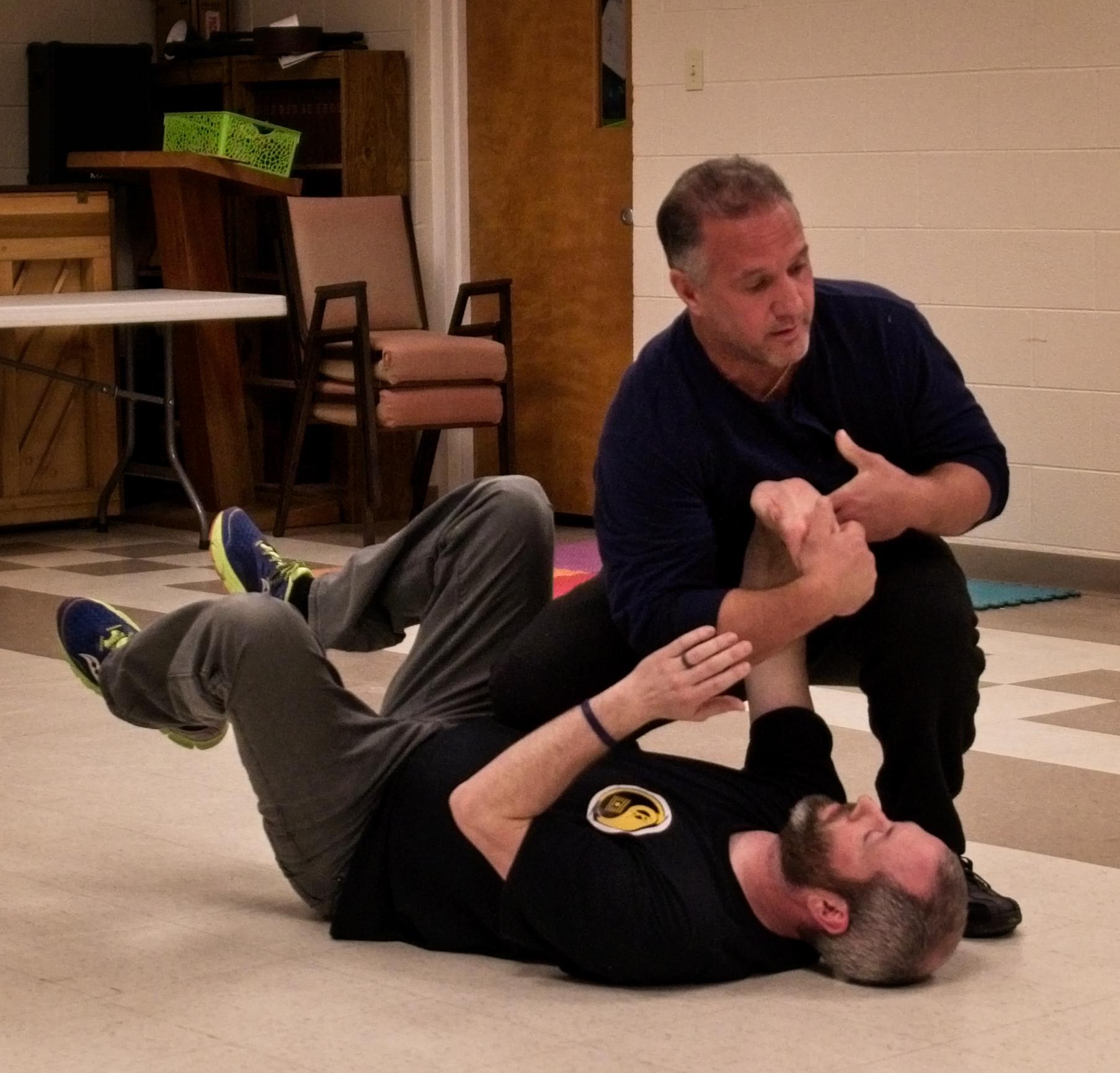CBII/Kai Sai Instructor Anthony Caucci teaching Chin na