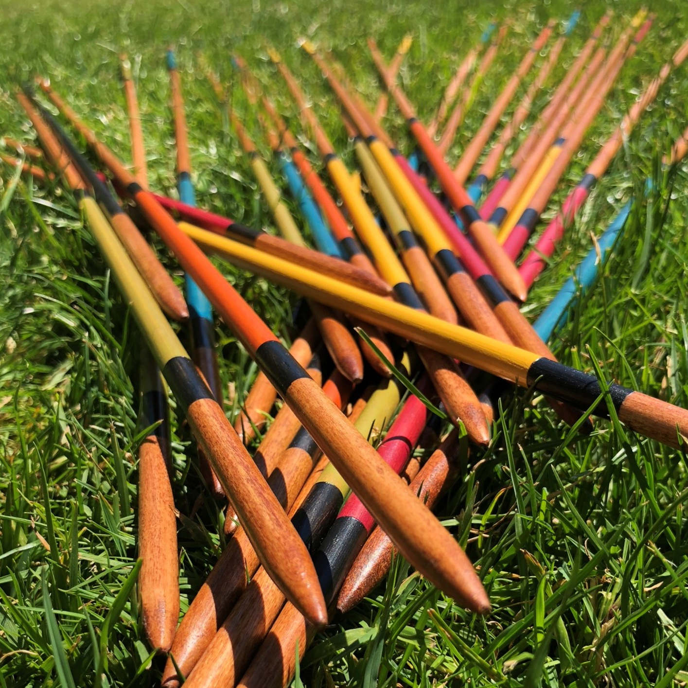 Pick-up sticks - + more info