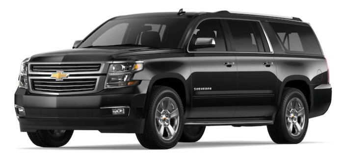 Luxury Car Service - Chevrolet | Suburban6 👤 5 💼Enjoy our luxury vehicles for all your transportation needs.