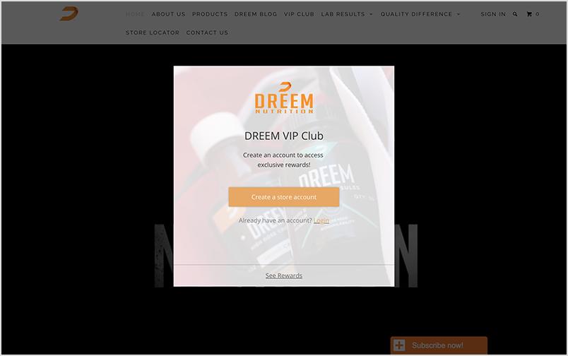 Dreem VIP Widget.png