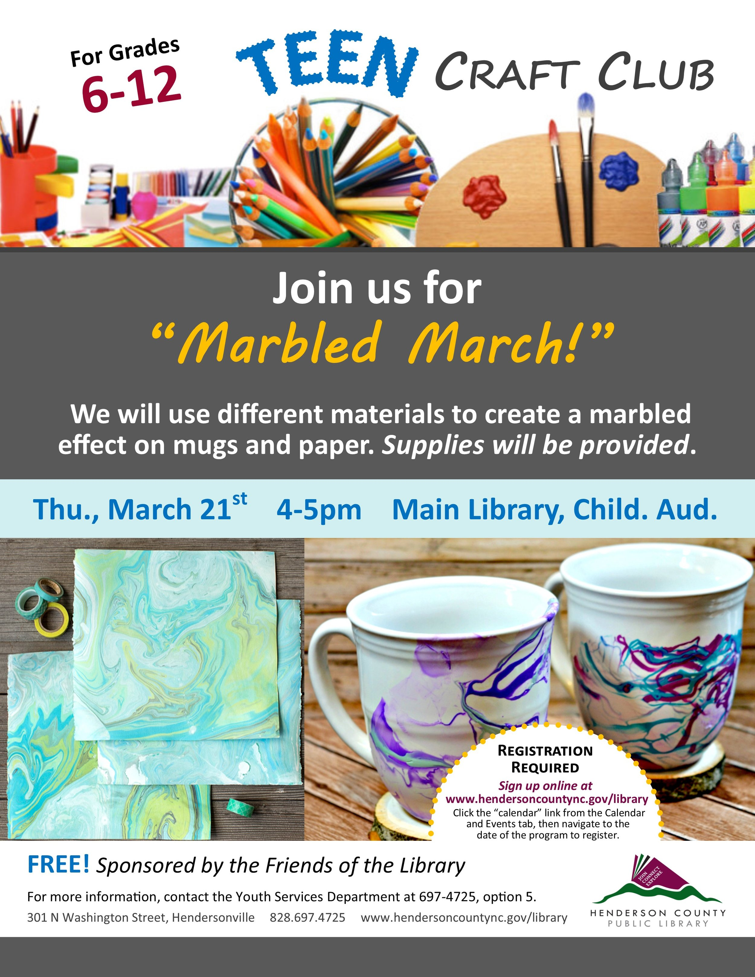 Teen Craft Club Marbled March.jpg