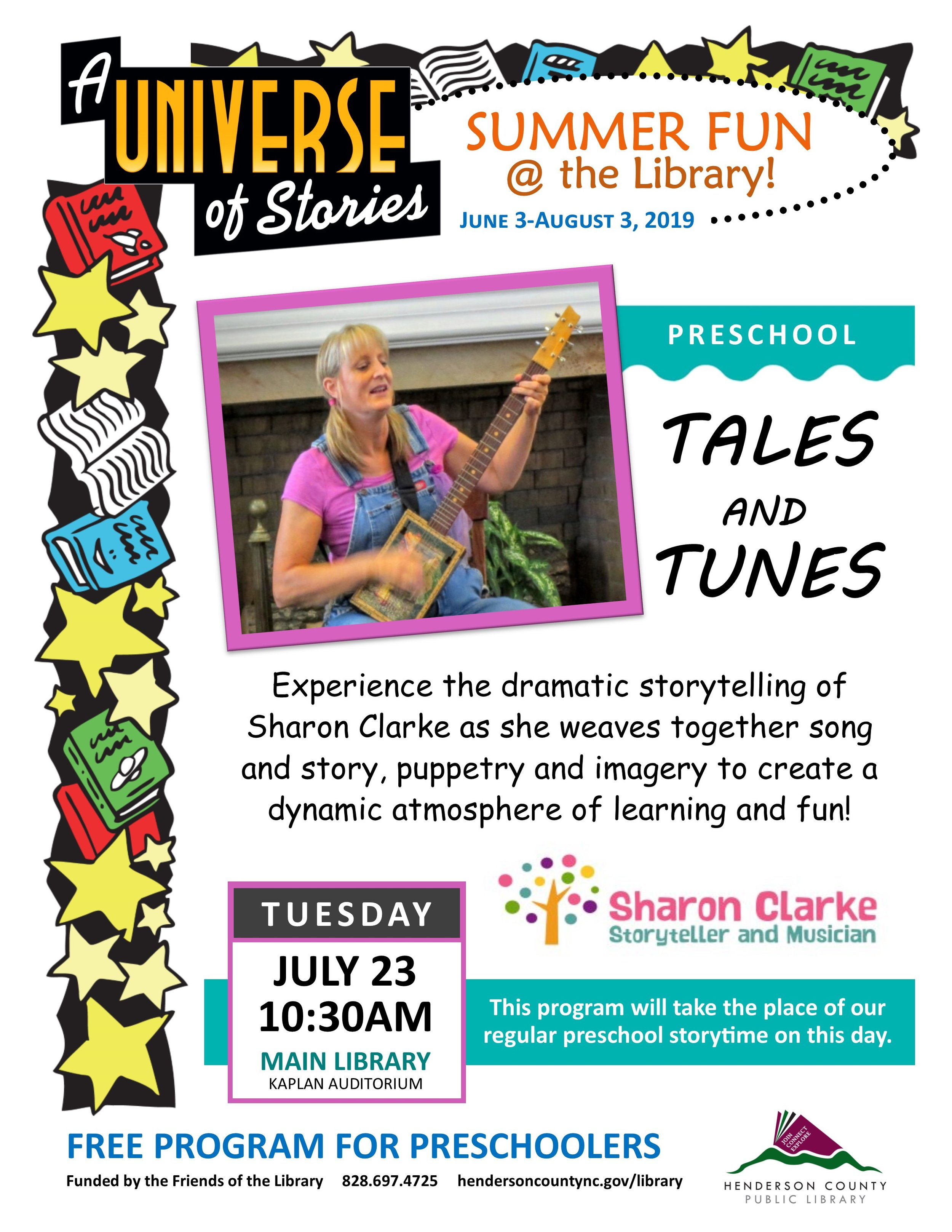 Tales and Tunes at Main Sharon Clarke.jpg
