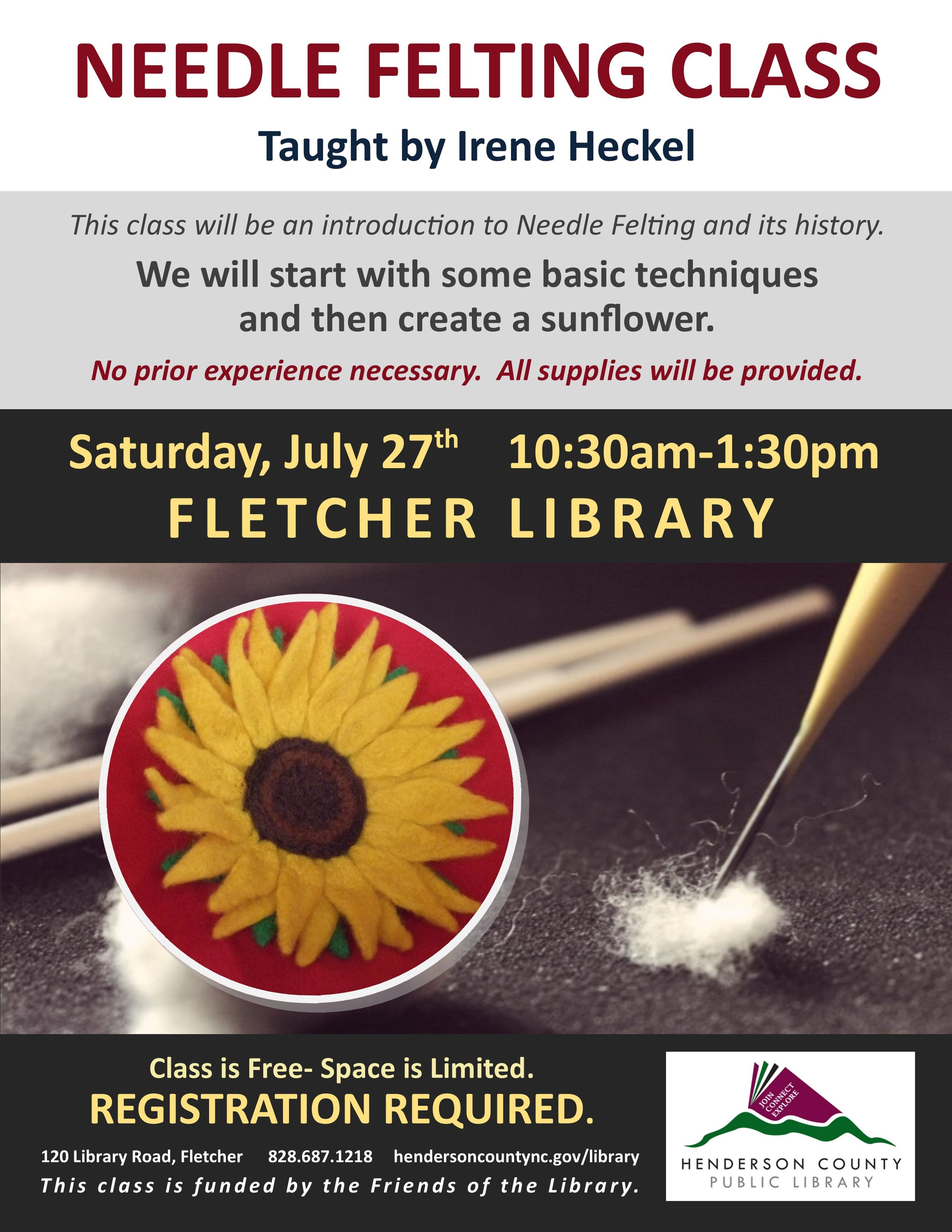 FL- Needle Felting Class July.jpg