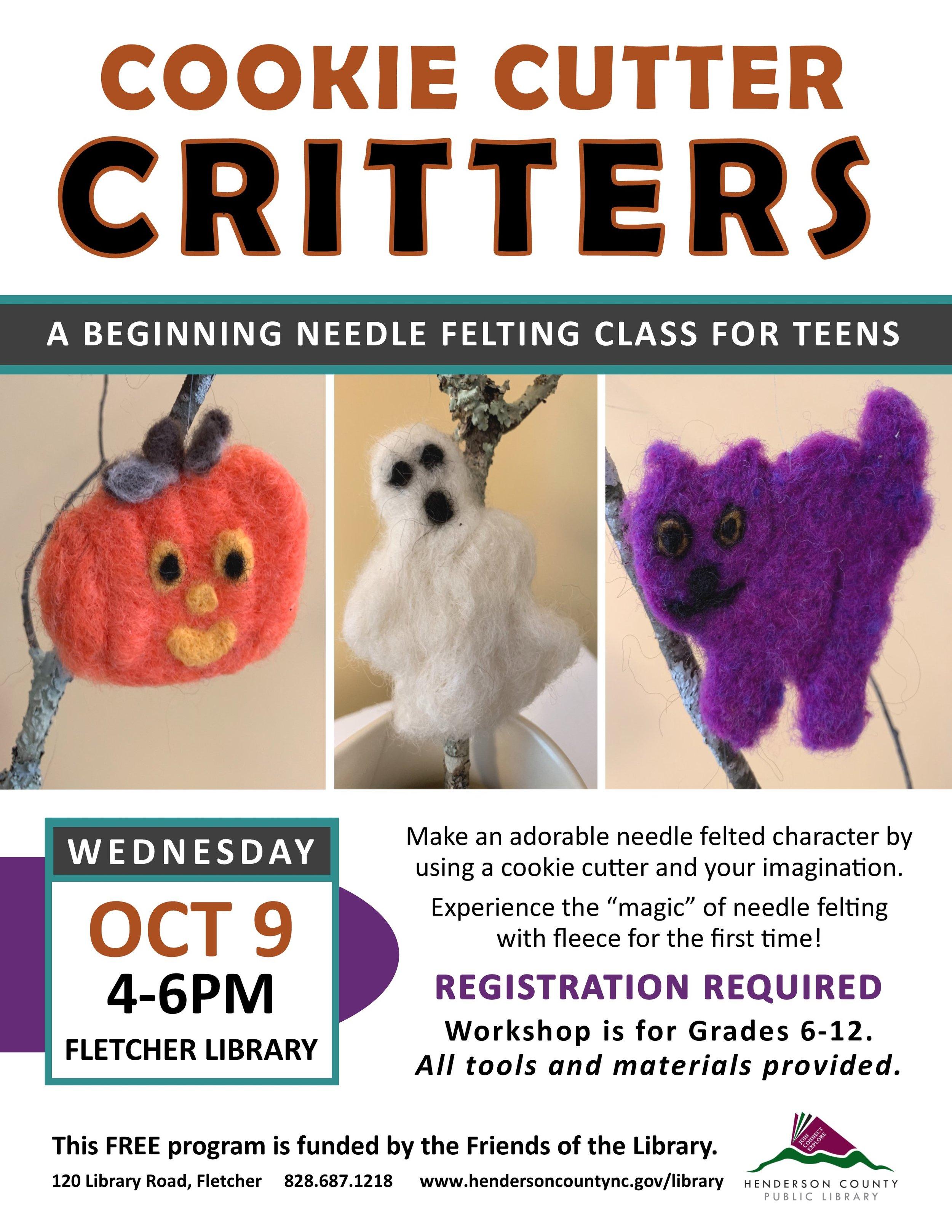 FL- Cookie Cutter Critters Beginning Needle Felting Class for Teens.jpg
