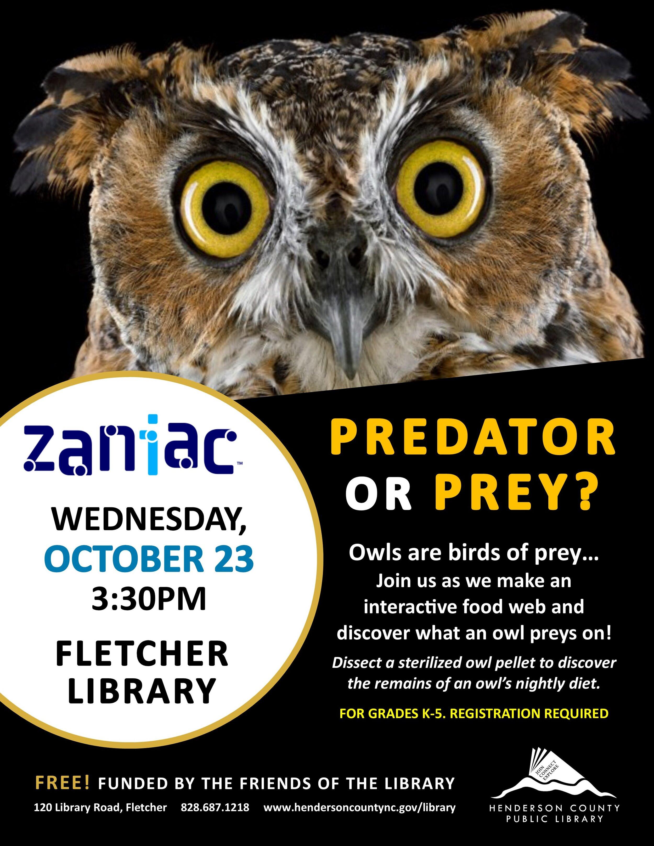 FL- Zaniac Predator or Prey.jpg