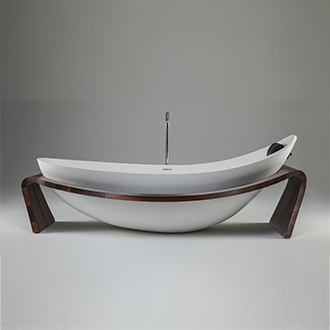 Designed to be the centrepiece of any luxurious bathroom, the Nido™ is the perfect combination of form and function.Over-sized for comfort, proportioned for beauty, the Nido is a bold statement in any modern bathroom. -