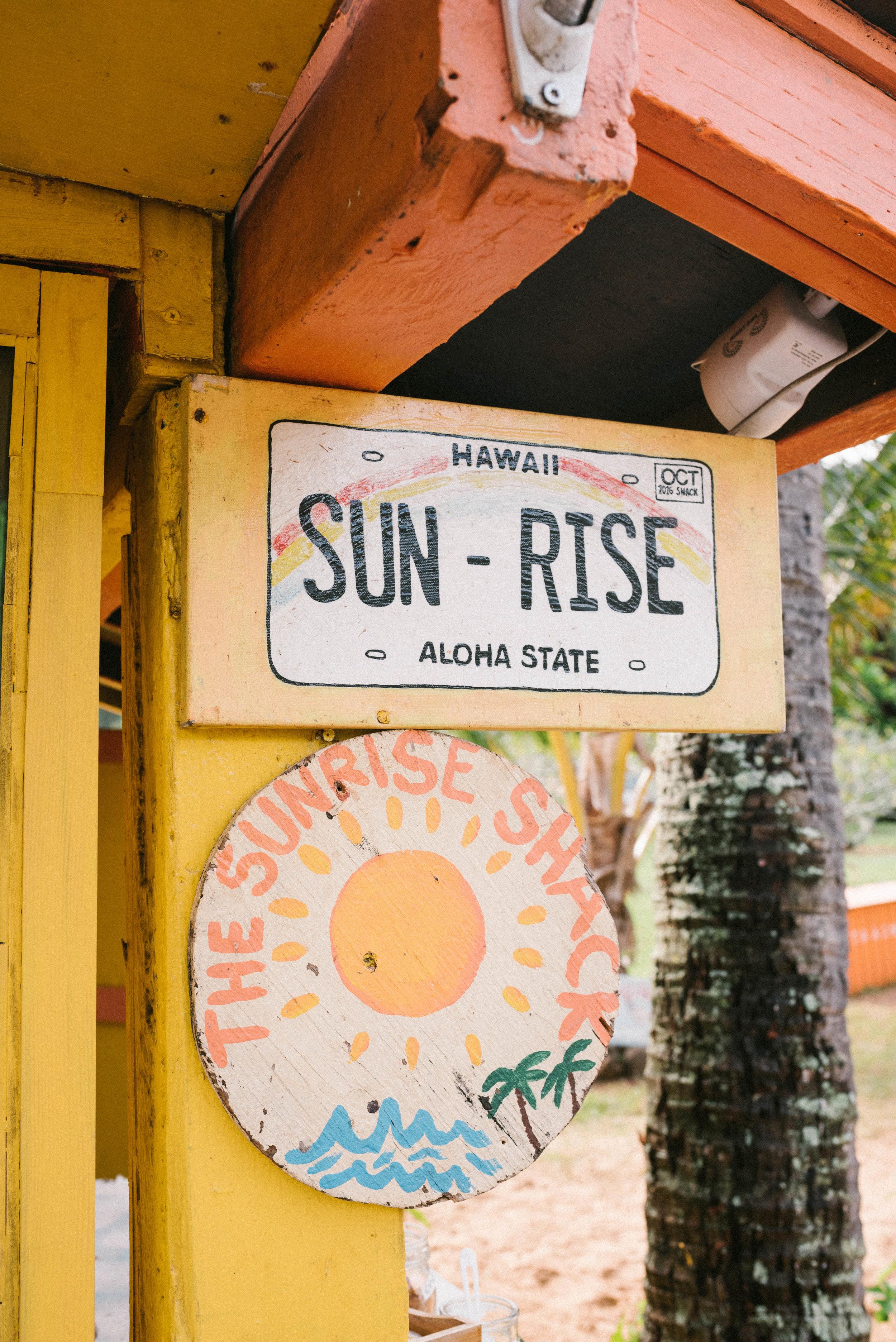 The Sunrise Shack | Oahu, Hawaii