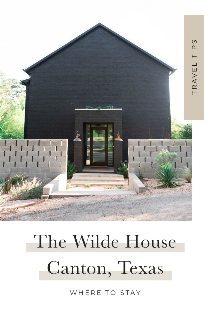 Where to Stay in Canton, Texas | The Wilde House