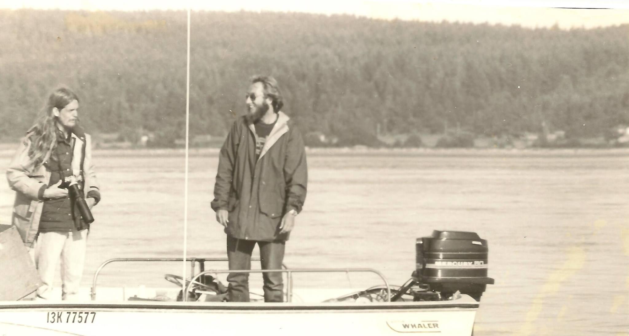 Rus Hoelzel and Jon Stern 1980    photo: © Laura Norris