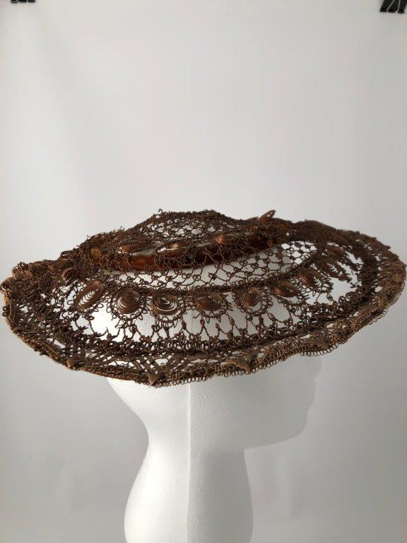Turn-of-the-century exquisite straw work!