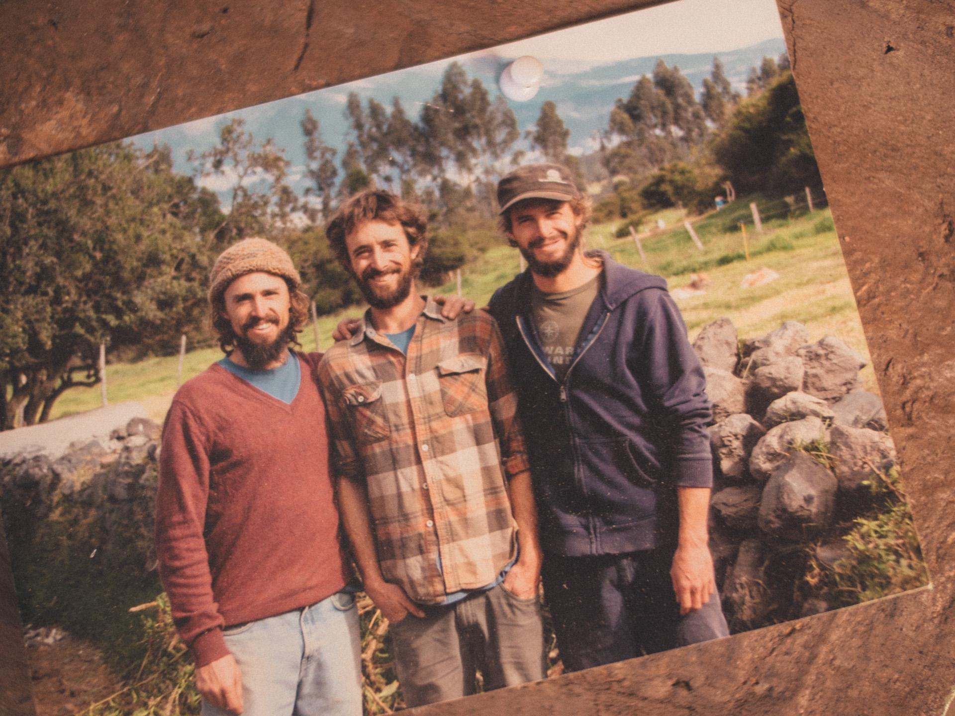 Mathias, Michael and Thomas Dammer