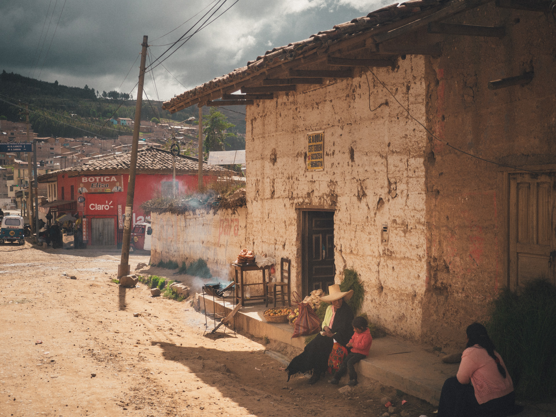 On the streets of Huamachuco