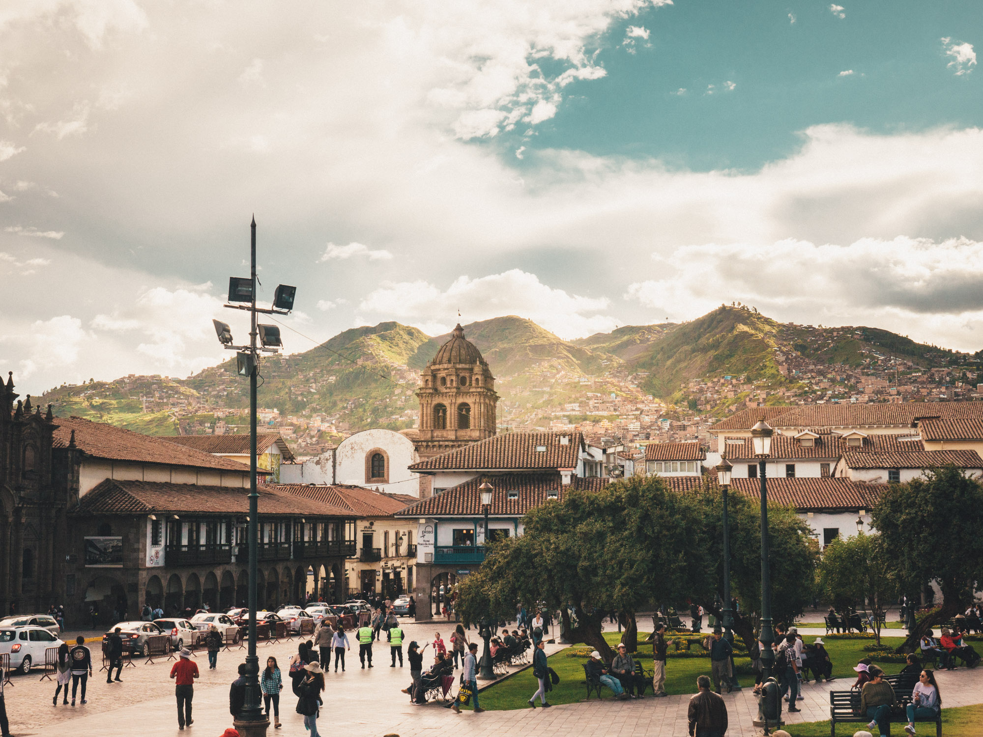 Plaza de Armes, the central square