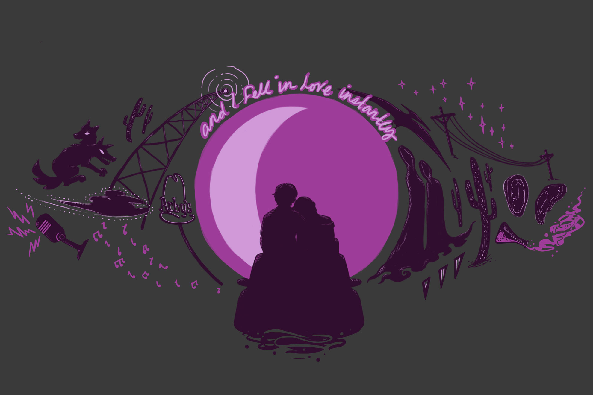 Cecil & Carlos T-Shirt Design that sold for a limited time on Welcome to Nightvale's official store