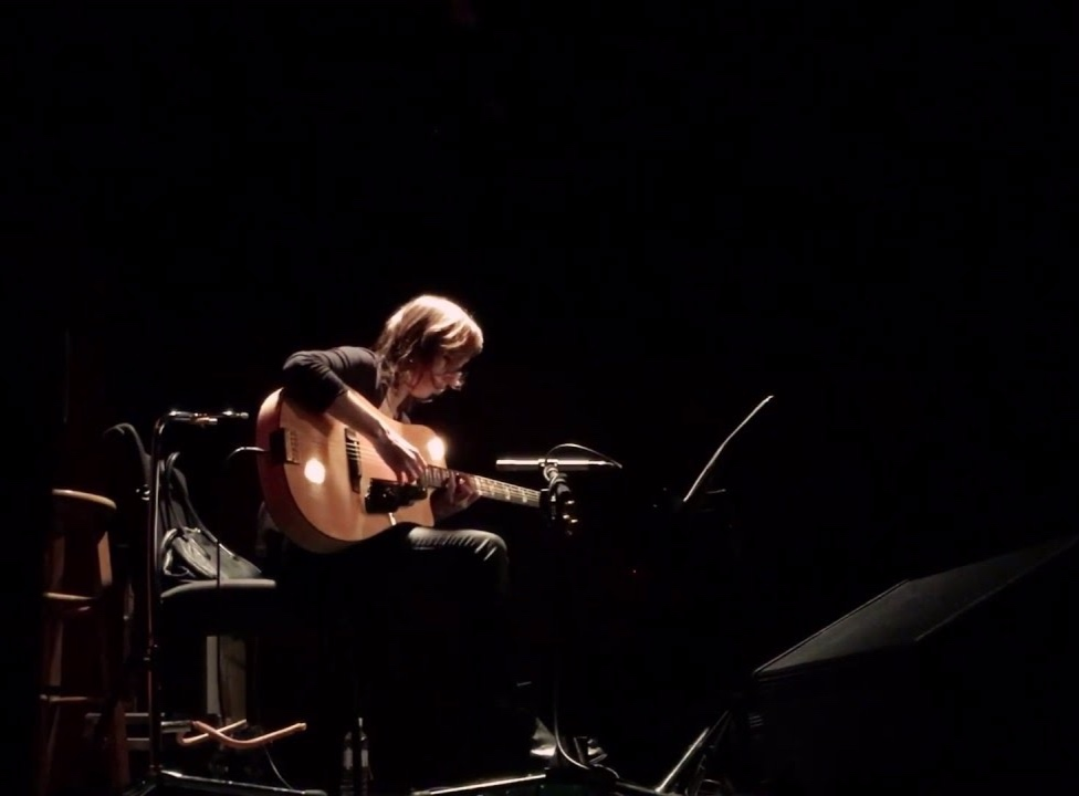 Mary Halvorson at the 2018 Big Ears Festival