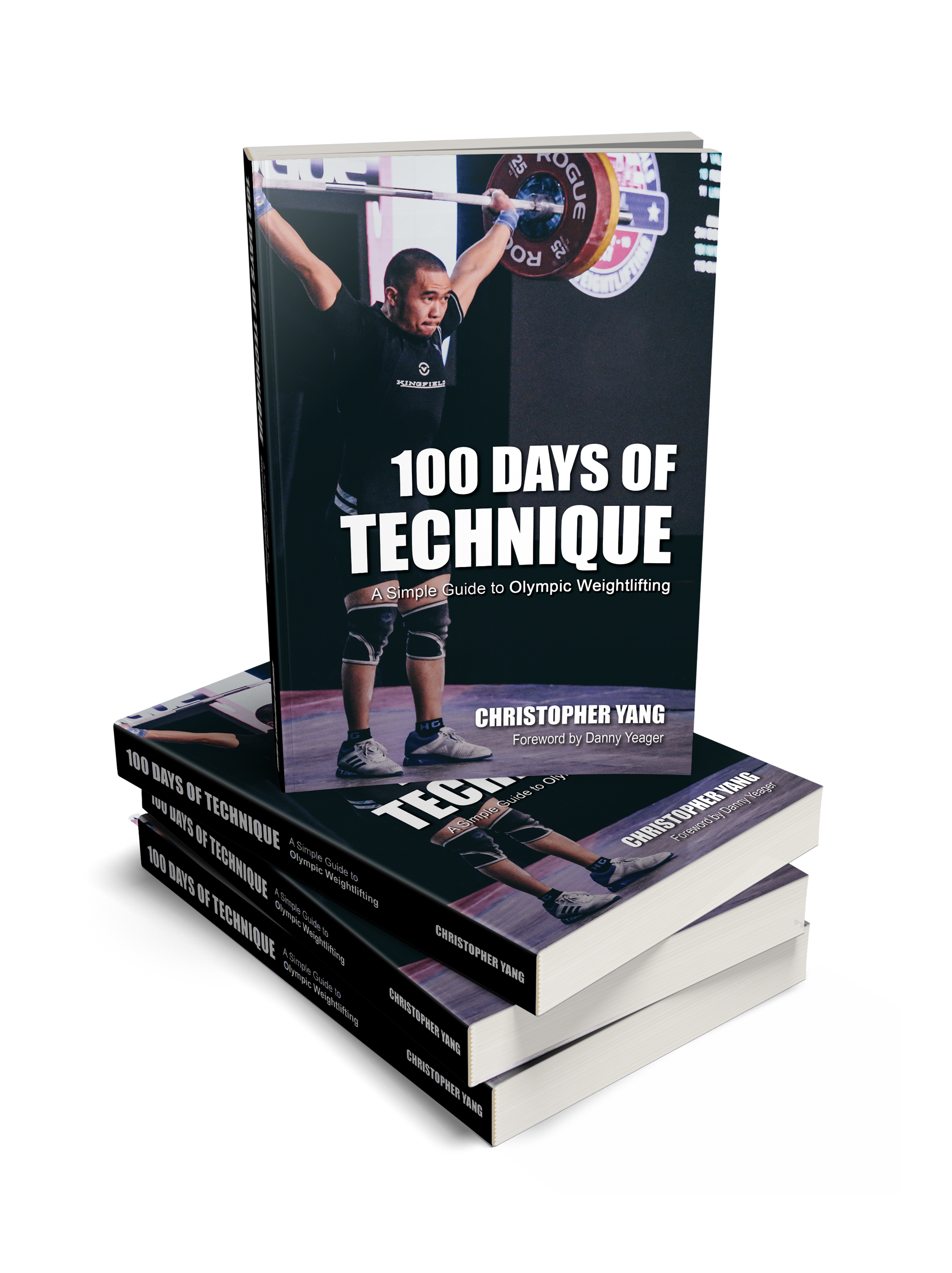 100 Days of Technique Book Display